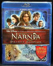 Blu Ray DVD Chronicles of Narnia: Prince Caspian ( 2-Disc Set) New! Factory Seal