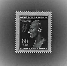 MNH Postage Stamp / Reinhard Heydrich / Hitlers Hangman / 1943 Third Reich