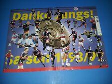 FC Bayern München – Poster 1998 - Rarität