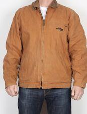 "BRAZOS Workwear Bomber Jacket Coat Brown Medium 40"" 42"" (JDB)"