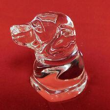 Art Glass STEUBEN Dog RETRIEVER - MINT