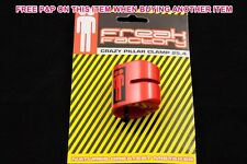 "Old school BMX ""Freak Factory"" BMX 28.6 mm Rouge Double Boulon Siège Pince nos années 80 mA"