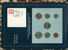 Coin Sets of All Nations Great Britain 1977-1990 UNC 50,10 Pence 1977 15DEC93