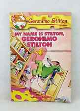 1st edition My Name is Stilton, Geronimo Stilton first printing used paperback