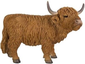 Real Life Highland Cattle Home or Garden Decoration (XRL-HLCA-D)