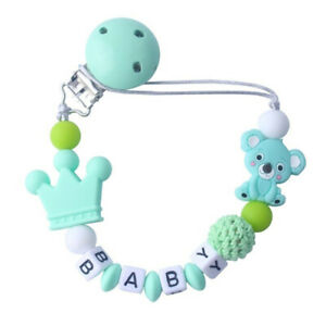 Baby Pacifier Clips Koala Pacifier Chain Holder for Baby Teething Chew Toy·