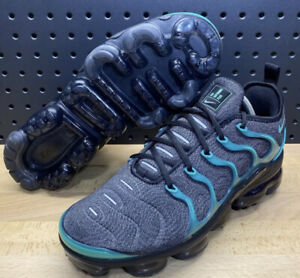 Nike Air Vapormax Plus Eagles Black Clear Emerald Cool Grey 924453 013 Size 9.5