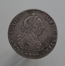 ESPAÑA BOLIVIA CARLOS IV 8 reales 1790 Potosi PR km#64