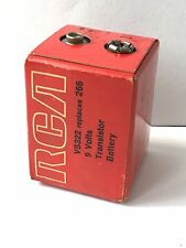 VINTAGE RCA TRANSISTOR 9 VOLT BATTERY VS323 GREAT FOR DISPLAY WITH YOUR RADIO