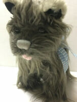 """Rubies Costume Prop Wizard of Oz Dorothy's Dog Toto plush stuffed animal toy 9"""""""