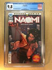 Naomi #1 Cover A 1st App 1st Print CW TV Show Kaci Walfall Bendis CGC 9.8WP NR