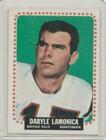 1964 Topps #31 Daryle Lamonica RC Notre Dame