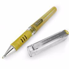 "Pentel Hybrid Gel Grip Metallic Pen �€"" 1.0mm Rollerball �€"" Metallic Gold �€"" Single"