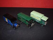3 Corgi Classic Commercial Vehicles No Boxes