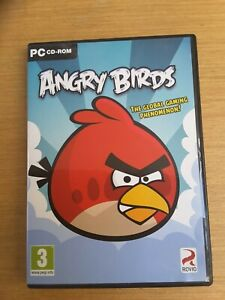Angry Birds PC CD-ROM game USED good condition