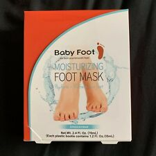 NEW Baby Foot Moisturizing Foot Mask Beauty Care Unscented 2.4 fl oz