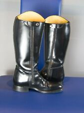 Thai traffic Police Boots Size 9 UK, Black, hardly worn, good condition