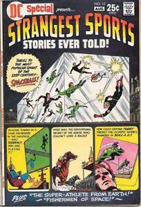 DC Special Comic Book #13 Strangest Sports Stories DC 1971 VERY FINE/NEAR MINT