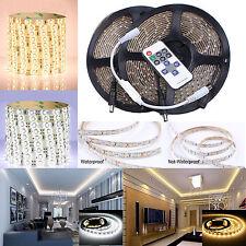 1-20M Bande kit 3528 SMD 300 LED Strip Ruban 12V+ Adapteur Alimentation + Dimmer