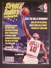 1994 PRO BASKETBALL MEMORABILIA CHICAGO BULLS~STREET & SMITHS~MAGAZINE
