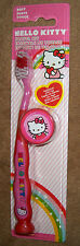 Hello Kitty Child's Toothbrush Travel Kit Free Shipping New