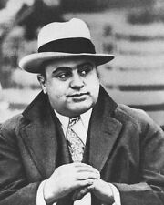 American Gangster Mobster AL CAPONE Glossy 8x10 Photo Criminal Mob Print Poster