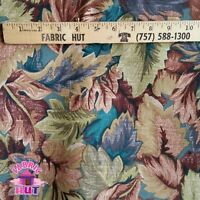 Home Decor Large Leaves Mallard Heavy Upholstery Fabric by the Yard