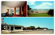1970s Vagabond Motel, 701 First Street North, Jacksonville Beach, FL Postcard
