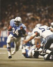 EARL CAMPBELL HOUSTON OILERS VS COWBOYS UNSIGNED 8x10 PHOTO