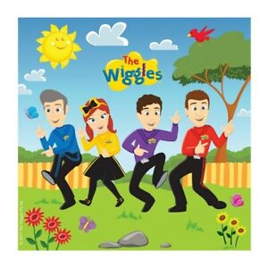 16pk The Wiggles Napkins Serviettes Tableware Party Supplies Decorations 8822316