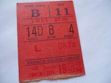 LED ZEPPELIN__1970__Original CONCERT TICKET STUB___Madison Square Garden, NYC