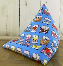 iPad tablet cushion Bean bag stand support tablets kindle phone book camper van