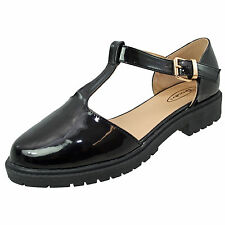 Unbranded Synthetic Leather Mary Janes Shoes for Women