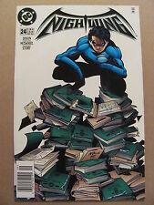 Nightwing #24 DC Comics 1996 Series Newsstand Edition 9.6 Near Mint+