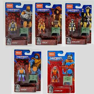 Mega Construx Masters Of the Universe MOTU Pro Builder Series Character He-man