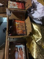 Collection of vintage playboy magazines 8 boxes....see list...some 1971- 2003
