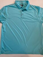 Ben Hogan Performance Short Sleeve Teal Golf Polo Shirt Men's XL