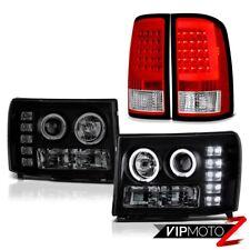 "08-14 Gmc Sierra 3500 WT Tail Lamps Headlights ""Lava Tube"" Light Bar Tron Style"