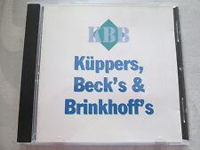 KBB Küppers, Beck's & Brinkhoff's - CD RARE
