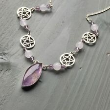 Silver Plated Amethyst Natural Costume Jewellery