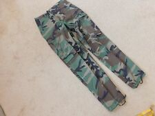 US  ARMY WOODLAND BDU PANTS SIZE SMALL- LONG