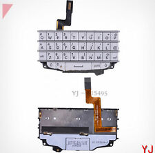 Original Qwerty Keypad Keyboard with Flex Cable For BlackBerry Q10 - White