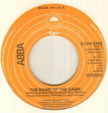 "Abba el nombre del juego 7"" USA Pressing, B/n me pregunto (salida), S EPC 5750,"