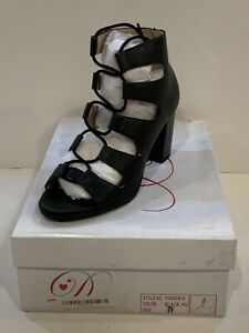 Delicious Women's Fashion Awesome Gladiator Strappy Chunky Block Heel Size 7.5