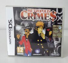 Metropolis Crimes NINTENDO DS 2DS 3DS COME NUOVO ITALIANO COMPLETO 2DS 3DS