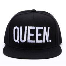 King Queen Baseball Cap Basecap Mütze Hut Snapback Partnercap bestickt Unisex