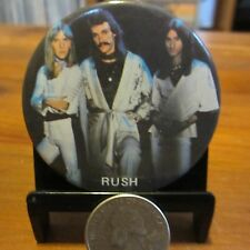 "RUSH '2112' Album Trio Photo; Vintage 2"" Pinback Button; c1984; EX/NM Condition"