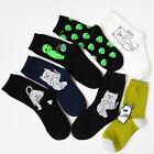 Mens/Womens Casual Nermal Cat Alien High Socks Hip Pop Soft Socks Funny Warm
