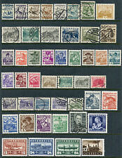 AUSTRIA 1925-52 COLLECTION, MINT & USED