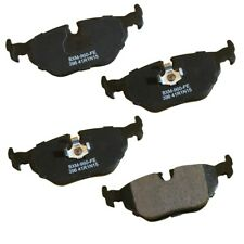Disc Brake Pad Set-Stop Semi-Metallic Brake Pad Rear Bendix SBM396